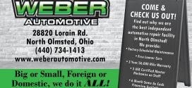 Weber Automotive: Big or Small, Foreign or Domestic, We Do It All!