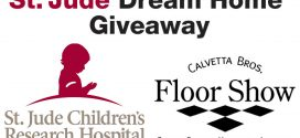 Calvetta Bros. Floor Show Official Flooring Sponsor of St. Jude Dream Home Giveaway