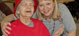 Normandy Care Center Celebrates Mardis Gras, Valentine's Day!
