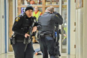 Bay Safety Teams Conduct Crisis Response Drills at Bay High