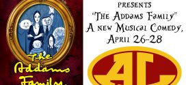"ALHS Drama Club Presents ""The Addams Family"" A New Musical Comedy"