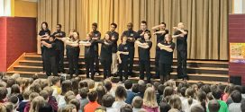Redwood Elementary Disability Awareness Week Closes with Elyria High School Sign Choir Performance & Check Presentation