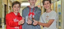First-Place National Ranking for Bay Middle School Seventh-Graders in Math Competition