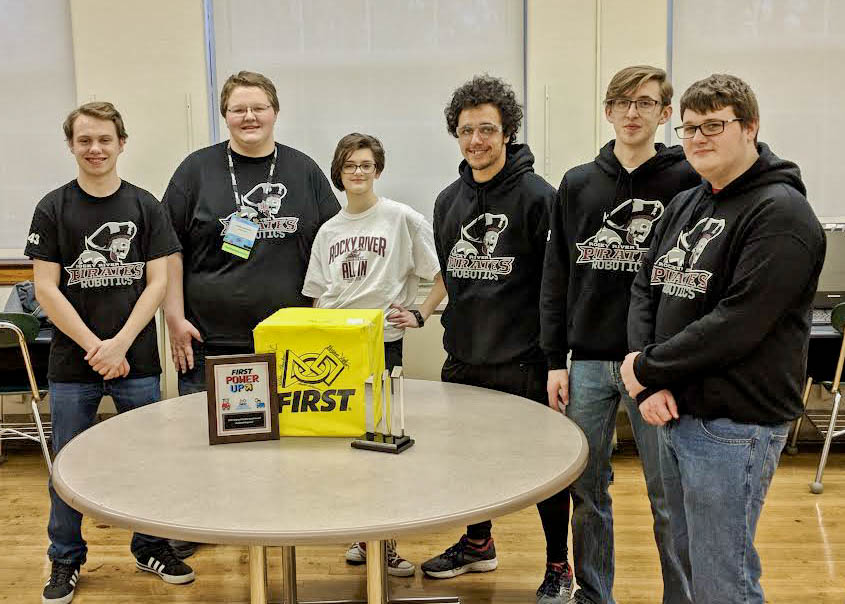 Rocky River High School Robotics Club Makes Mark On Competition