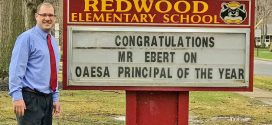Redwood Principal T. J. Ebert among Nation's Best K-8 Principals