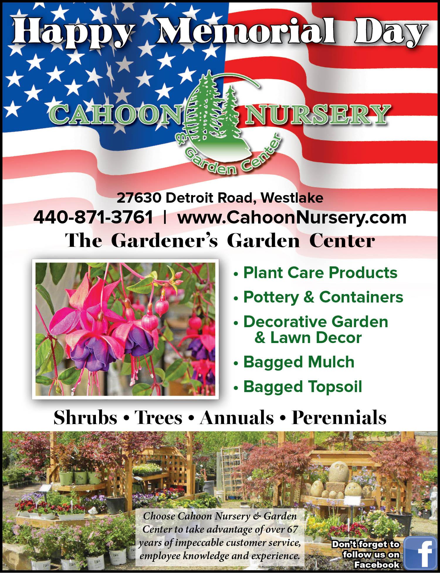 Cahoon Nursery The Gardener S Garden Center The Villager
