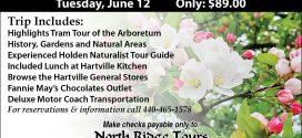 Visit the Holden Arboretum with North Ridge Tours