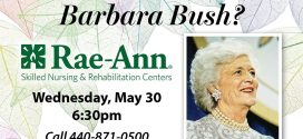 Rae-Ann Centers: What Can We Learn from Barbara Bush?