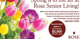 Spring is in the Air at Rose Senior Living!