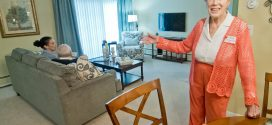 Community Tours New Breakwater Apartments at Normandy Senior Living Campus