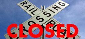 Railroad Crossing Closed in Bay