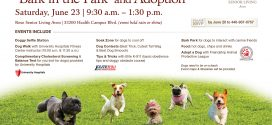 """Bark in the Park"" and Adoption at Rose Senior Living"