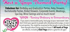 Host a Yoga Theme Party with Lana's Loving Care Yoga