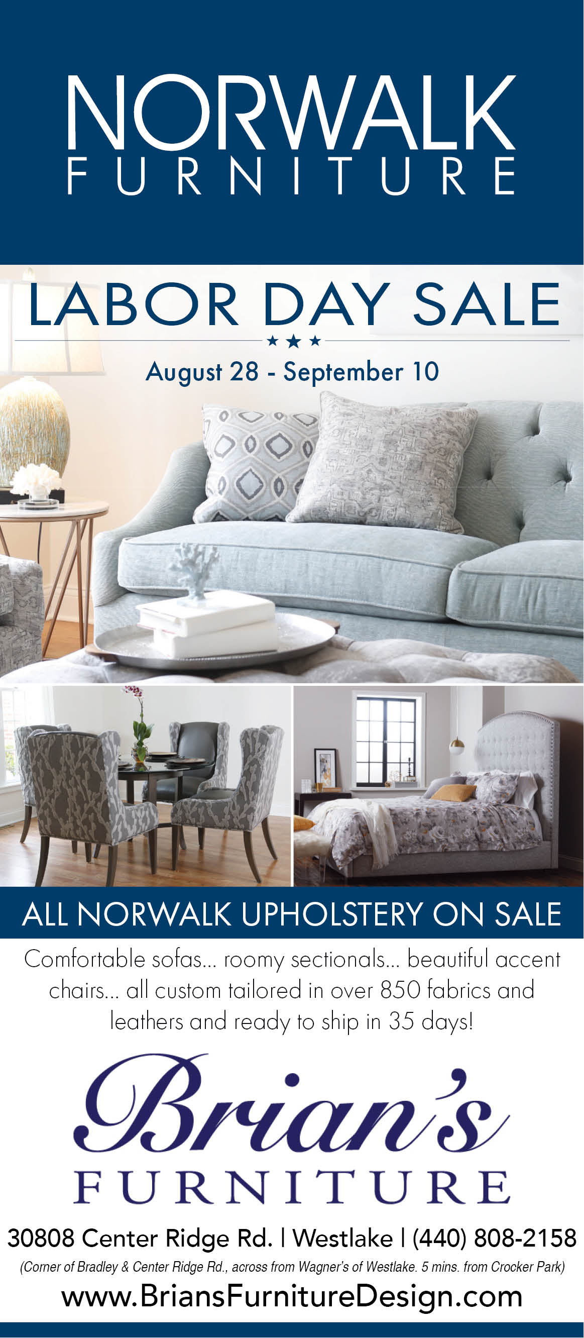 Brian S Furniture Norwalk Furniture Labor Day Sale Aug 28 Sept 10