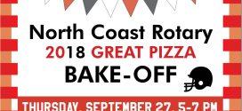 North Coast Rotary 2018 GREAT PIZZA BAKE-OFF
