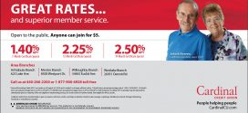 Cardinal Credit Union: Great Rates…and Superior Member Service