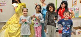 Princess, Super Heroes Visit Avon Heritage Elementary