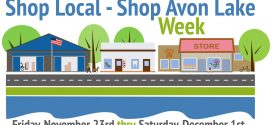 2018 Shop Local-Shop Avon Lake Week – Nov. 23-Dec. 1