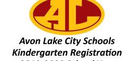 Avon Lake Kindergarten Registration