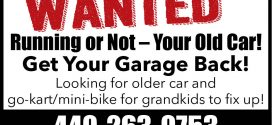 WANTED: Running or Not Your Old Car!