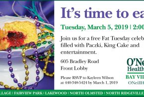 O'Neill Healthcare Bay Village: It' Time to Eat!