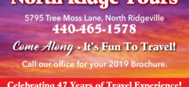 North Ridge Tours: Come Along – It's Fun To Travel!