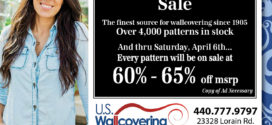 U.S. Wallcovering 114th Anniversary Sale
