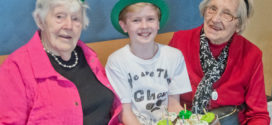 St. Bernadette Students Celebrate Birthday with Seniors