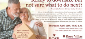 Rose Senior Living: Ready to Downsize But Not Sure What to Do Next?