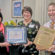 Deb Myers Receives Myrna Chelko Volunteer Award from Westlake Porter Public Library