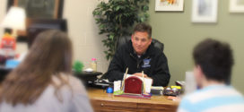 Long-time Bay Middle School Principal Sean McAndrews Retires