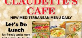 Claudette's Cafe: Let's Do Lunch!