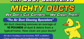 "Mighty Ducts, The Air Duct Cleaning Specialists: ""We SET the Standard!"""