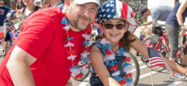 Avon's Celebrates America with Bike Parade