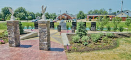 City of Avon Installs Veterans Memorial