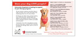 Does Your Dog Love People? UH St. John Wants You!