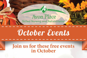 Avon Place Free October Events