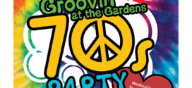 Groovin' at the Gardens 70's Party