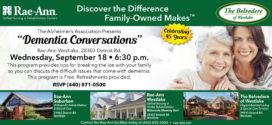 Rae-Ann Skilled Nursing & Rehabilitation Centers: Dementia Conversations