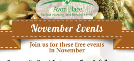 Avon Place Free November Events