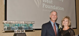 Community West Foundation 2019 Art of Caring Award Recipients Bill and Jill Oatey