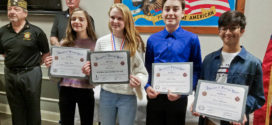 VFW Honors Learwood Middle School Students