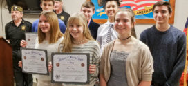 VFW Honors Avon Middle School Students