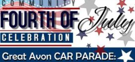 Community Fourth of July Celebration: Great Avon Car Parade