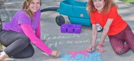 Sidewalk Art Inspires Hope and Spirits in Bay Village