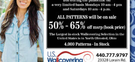 U.S. Wallcovering: Open with Limited Hours