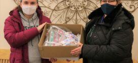 Westlake Teachers Association Uses Grant to Make Food Pantry Donation