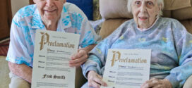 Westlake Over 90 Birthday Proclamations